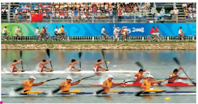 Kürek takımı yarışı